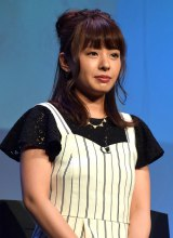 スマホゲームアプリ『Red Queen』発売記念イベントに登場した山田菜々 (C)ORICON NewS inc.