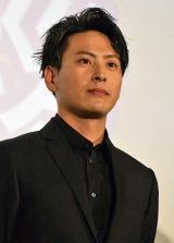 映画『ROAD TO HiGH&LOW』初日舞台あいさつに登壇した山下健二郎 (C)ORICON NewS inc.