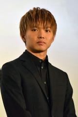 映画『ROAD TO HiGH&LOW』初日舞台あいさつに登壇した佐藤大樹 (C)ORICON NewS inc.