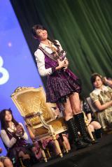 第3回JKT48総選挙で二連覇を達成したジェシカ・フェランダ(C)JKT48project