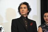 映画『シマウマ』の完成披露上映会に出席した加藤雅也