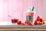 苺とクリームのハーモニーがたまらない新作『ストロベリー ディライト フラペチーノ』