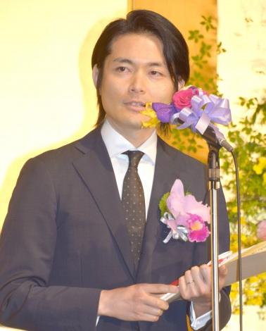 『第24回橋田賞』で橋田賞を受賞した古沢良太 (C)ORICON NewS inc.