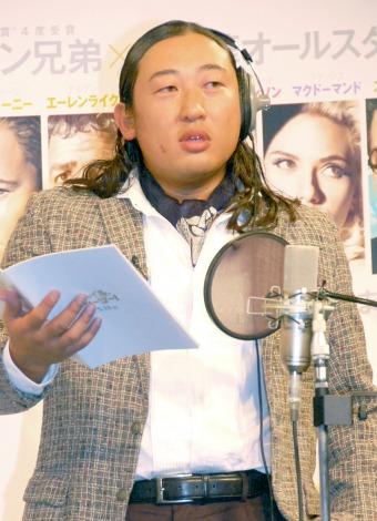 映画『ヘイル、シーザー!』の吹替版公開アフレコイベントに出席したロバート・秋山竜次 (C)ORICON NewS inc.