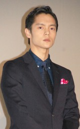 映画『MARS〜ただ、君を愛してる〜』(6月18日公開)でKis-My-Ft2・藤ヶ谷太輔とのキス秘話を明かした窪田正孝 (C)ORICON NewS inc.