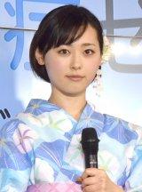 『熱中症ゼロへ プロジェクト2016年』プレス発表会に出席した福原遥 (C)ORICON NewS inc.