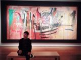 バスキア作品を62.4億円で落札した前澤友作氏