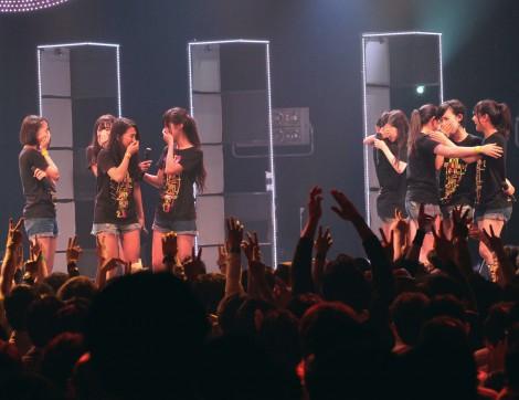 新曲「DREAM TRIGGER」デイリーランキング2位に号泣する東京パフォーマンスドール