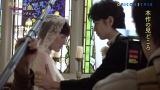ウエディングドレスに身をつつんだ綾瀬はるかと斎藤工の挙式シーン撮影