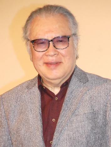 映画『マクベス』初日舞台あいさつイベントに出席した江守徹