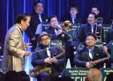 ビッグバンド『ジェントル・フォレスト・ジャズ・バンド』のステージに出演した小松政夫 (C)ORICON NewS inc.