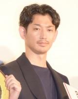 映画『殿、利息でござる!』の初日舞台あいさつに出席した瑛太 (C)ORICON NewS inc.