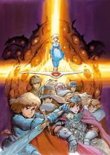 『ジブリの大博覧会〜ナウシカから最新作「レッドタートル」まで〜』メインビジュアル。風の谷のナウシカ(C) 1984 Studio Ghibli・H