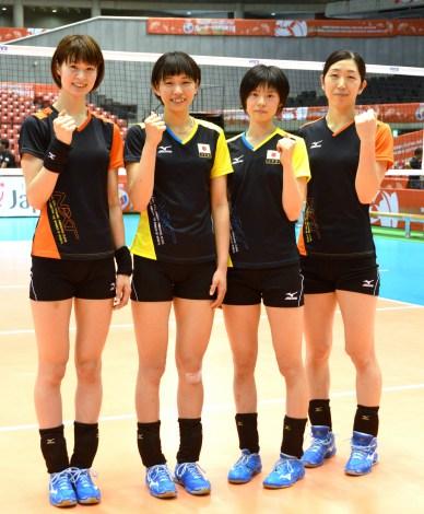 日本 女子 バレー メンバー