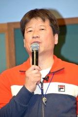 『オランジーナ』新CMキャラクターに起用された、佐藤二朗 (C)oricon ME inc.