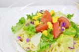 サークルKサンクスの夏の新商品「冷し! だし香る生ぱすた トマトと玉子」