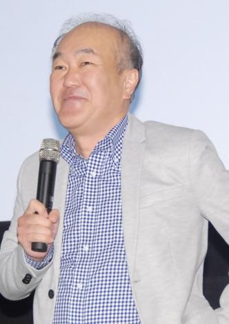 映画『サブイボマスク』プレミア上映会に出席した温水洋一 (C)ORICON NewS inc.