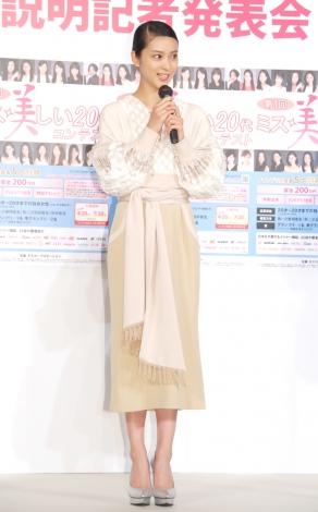 『第1回 ミス美しい20代コンテスト』概要説明記者発表会に出席した武井咲
