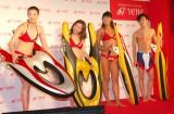 特許事業会社VENE『2016 LAUNCH EVENT』に出席した(左から)高野人母美、黒木優子、坂口佳穂、生島翔 (C)ORICON NewS inc.