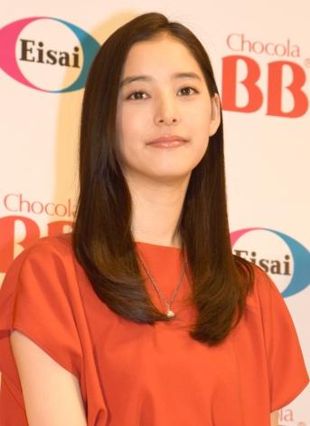 『チョコラBB』新CM発表会に出席した新木優子 (C)ORICON NewS inc.