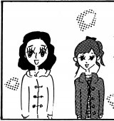 大橋裕之氏が描いた漫画(左から)松岡茉優、伊藤沙莉
