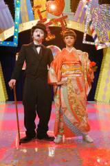 徹子がニューヨークで出会ったチャップリンと「New York,New York」を歌い踊る(C)NHK