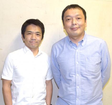 昨今の芸人事情を語った中川家(左から)剛、礼二 (C)ORICON NewS inc.