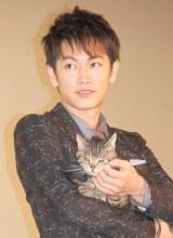 映画『世界から猫が消えたなら』初日舞台あいさつに出席した佐藤健 (C)ORICON NewS inc.