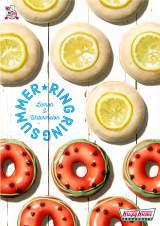 「クリスピー・クリーム・ドーナツ」から初夏に爽やかなフルーツドーナツが新登場