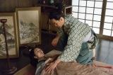 大河ドラマ『真田丸』第3回「策略」、初登場時のワンシーンでおこうというキャラクターを強烈に印象づけた長野里美(C)NHK
