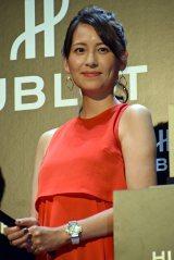第2子出産後、初めてイベントに登場したフリーアナウンサーの青木裕子 (C)ORICON NewS inc.