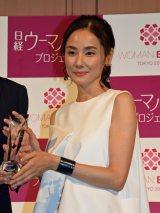 『日経ヘルスPresents ビューティーミューズ大賞2016』授賞式に出席した吉田羊 (C)ORICON NewS inc.