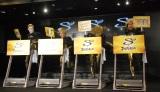 『ストライド×ゴールデンボンバー キャンペーン』発表会に出席したゴールデンボンバー (C)ORICON NewS inc.