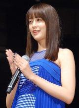 映画『貞子vs伽椰子』完成記念イベントに出席した山本美月 (C)ORICON NewS inc.