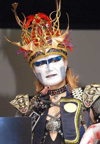 映画『貞子vs伽椰子』完成記念イベントに出席したデーモン閣下 (C)ORICON NewS inc.