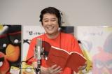 怒りんぼうのレッド役を担当する坂上忍=アニメーション映画『アングリーバード』公開アフレコ