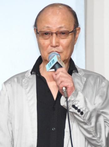 映画『団地』完成報告会見に出席した石橋蓮司 (C)ORICON NewS inc.