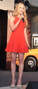 映画『デッドプール』公開直前プレミアイベントに登場したローレン夫人 (C)ORICON NewS inc.