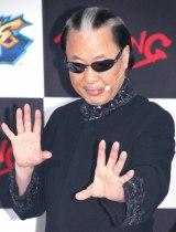 新作アーケードゲーム『マジシャンズデッド』イベントに出席したMr.マリック (C)ORICON NewS inc.