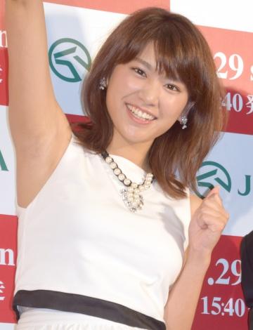 JRA『日本ダービー出馬表発表イベント』に出席した久松郁実 (C)ORICON NewS inc.