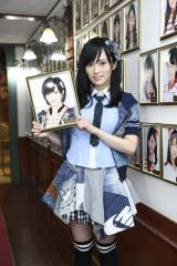 AKB48として最後の劇場公演を行った山本彩(C)AKS