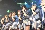 AKB48として最後の劇場公演を行った山本彩(中央)(C)AKS