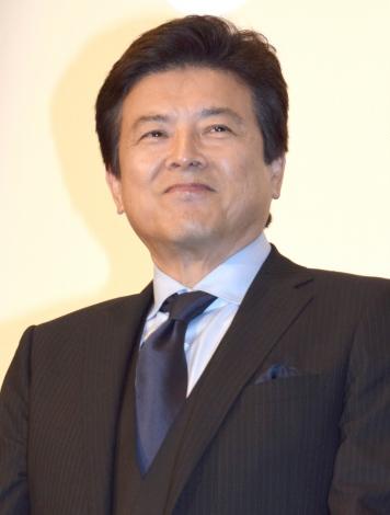 映画『葛城事件』の完成披露舞台あいさつに登壇した三浦友和 (C)ORICON NewS inc.