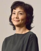 映画『葛城事件』の完成披露舞台あいさつに登壇した南果歩 (C)ORICON NewS inc.