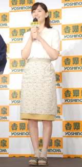 昭和30年風の衣装で登場した石橋杏奈 (C)ORICON NewS inc.
