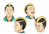 燃堂力(CV:小野大輔)キャラクター設定画 (C)麻生周一/集英社・PK学園