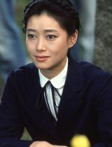 1984年公開の映画『瀬戸内少年野球団』でヒロインの駒子先生を演じた夏目雅子さん(撮影:田川清美)