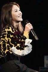 デビュー15周年記念イベント『BoA 15th Anniversary Special Party』を行ったBoA