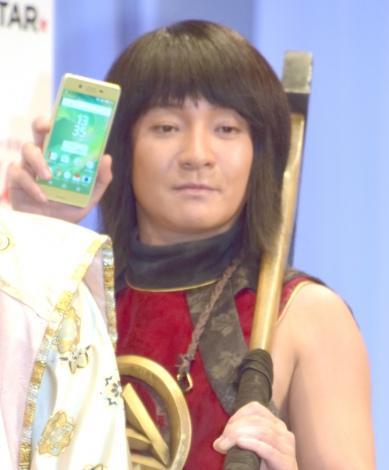 『au発表会 2016 Summer』登場した濱田岳 (C)ORICON NewS inc.