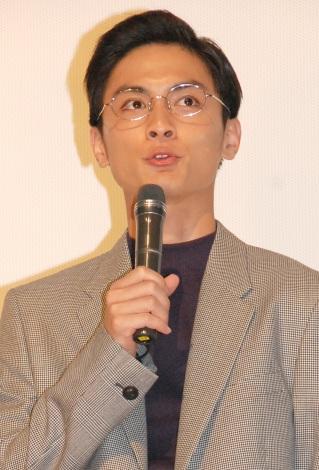 映画『ふきげんな過去』完成披露上映会に出席した高良健吾 (C)ORICON NewS inc.
